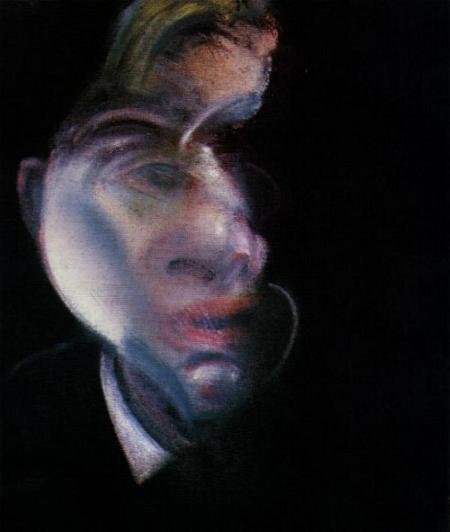 Three Studies for Self Portrait 1979 Left